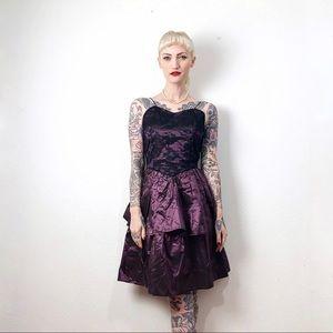 Vintage 1980s handmade dress S